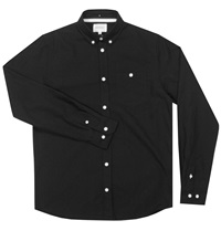 Norse Projects Anton Oxford Shirt In Black Huh. Store