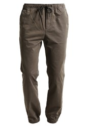 Pier One Trousers Olive Night