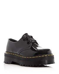 Dr. Martens Holly Platform Oxfords Black