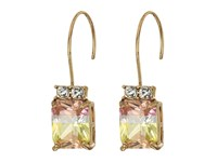 Betsey Johnson Pink Tourmaline Drop Earrings Multi Earring