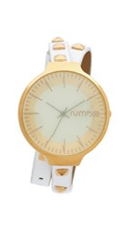 Rumbatime Orchard Snow Patrol Studded Double Wrap Watch