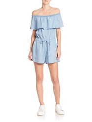 Ella Moss Off The Shoulder Jumpsuit Chambray