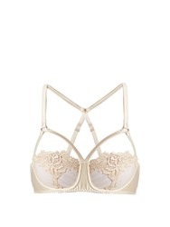 Fleur Of England Golden Hour Lace Balconette Bra Light Pink