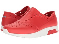 Native Lennox Torch Red Shell White Athletic Shoes Orange