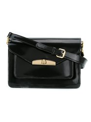 Sarah Chofakian Patent Leather Purse Black