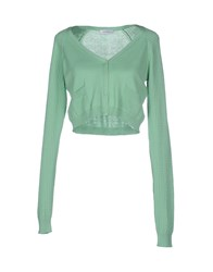 Max And Co. Knitwear Cardigans Women Light Green