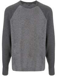 James Perse Recycled Cashmere Raglan Jumper 60