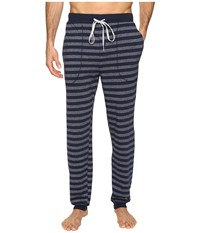 Kenneth Cole Reaction Banded Bottom Pants Navy Men's Pajama