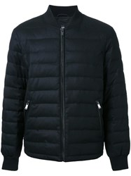 Kent And Curwen Down Bomber Jacket Black
