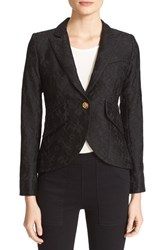 Smythe Women's Corded Lace Blazer