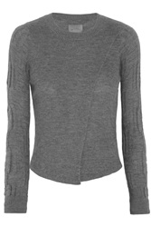 Maiyet Wrap Effect Cashmere Sweater