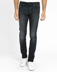 Selected Black Two Mario Faded Slim Fit Jeans