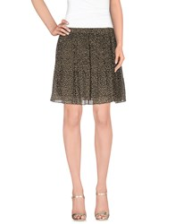 Michael Michael Kors Skirts Mini Skirts Women Khaki
