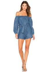 Free People Tangled In Willows One Piece Blue