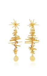 Paula Mendoza Ego I Earrings Gold