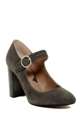Adrienne Vittadini Goalie Mary Jane Pump Gray