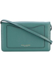 Marc Jacobs Recruit Wallet Women Calf Leather One Size Green