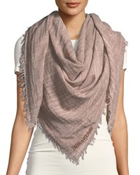 Zadig And Voltaire Anael Fringe Scarf Rose