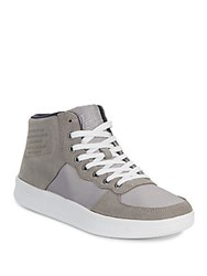 Penguin Leather Blend Sneakers Grey