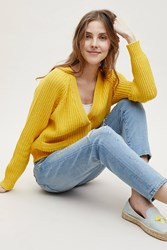 Selected Femme Dorothy Cardigan Yellow