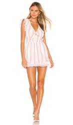 Bcbgeneration Knot Front Romper In White. Optic White