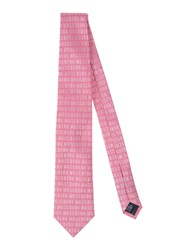 Moschino Accessories Ties Men Light Purple