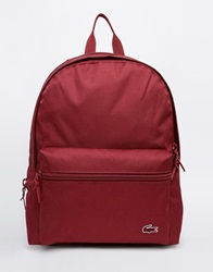 Lacoste Backpack Burgundy