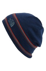 The North Face Men's Wool Blend Beanie Blue Cosmic Blue Conquer Blue
