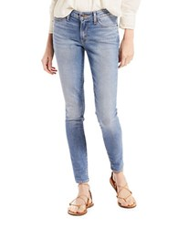 Levi's Miles To Go 711 Skinny Fit Jeans Light Blue