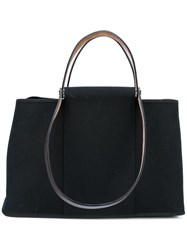 Hermes Vintage Canvas Tote Black