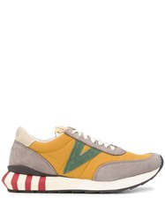 Visvim Attica Low Top Sneakers Yellow
