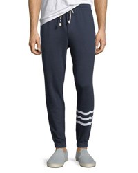 Sol Angeles Essential French Terry Jogger Pants Indigo