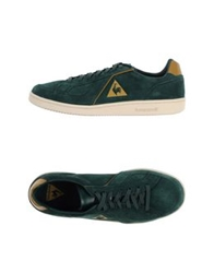 Le Coq Sportif Low Tops And Trainers Emerald Green