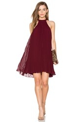 Keepsake Clarity Mini Dress Burgundy