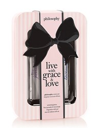 Philosophy Live With Grace And Love Rollerball Trio 60.00 Value No Color