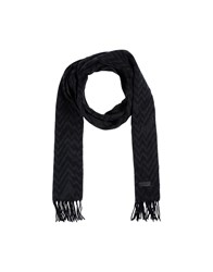 Fred Perry Oblong Scarves Steel Grey