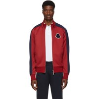 Moncler Red Cardigan Track Jacket