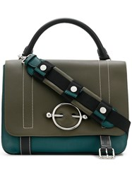 J.W.Anderson Jw Anderson Disc Hardware Tote Bag Green