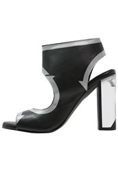 Miista Tina High Heeled Sandals Black
