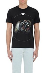 Givenchy Men's Monkey Brothers T Shirt Black