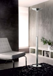 Holtkoetter 2715Led Nauticus Torchiere Floor Lamp Silver