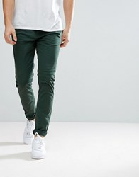 Dr. Denim Dr Chinos Heywood Slim Tapered Fit Riot Green