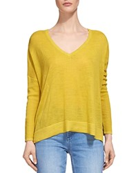 Whistles Drop Shoulder Sweater Yellow