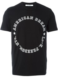 Givenchy American Dream T Shirt Black