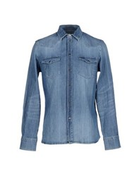 Dondup Denim Denim Shirts Men
