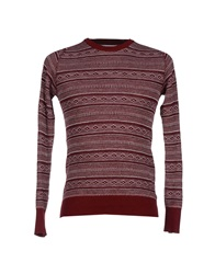 White Mountaineering Sweaters Maroon