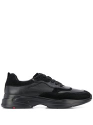 Lloyd Low Top Lace Up Sneakers Black