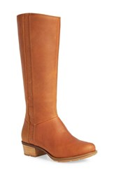 Chaco Cataluna Knee High Waterproof Boot Spice Leather