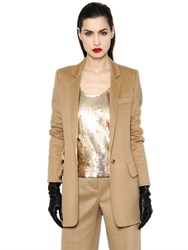 Max Mara Camel Long Jacket