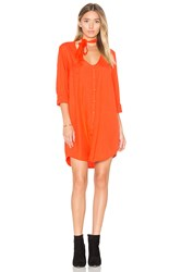 Obey Sarah Dress Orange